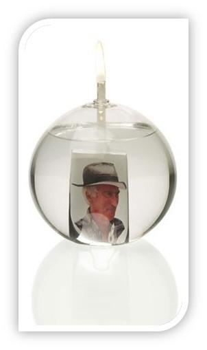 Öllampe für Erinnerungsfoto